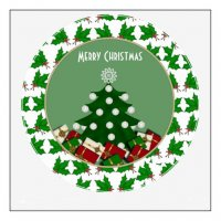 Personalized Christmas Decoration light-colored fabric iron on transfers Decal 3