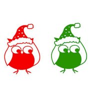 Personalized Christmas Decoration light-colored fabric iron on transfers Decal 15