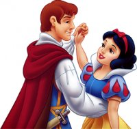 Princess Snow White with Prince