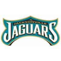 Jacksonville Jaguars Script Logo  Light Iron-on Stickers (Heat Transfers)