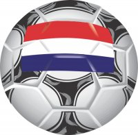 Netherlands Soccer Light Iron-on Stickers (Heat Transfers)