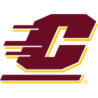 Central Michigan Chippewas 1997-Pres Primary Logo Light Iron-on Stickers (Heat Transfers)