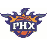 Phoenix Suns Alternate Logo  Light Iron-on Stickers (Heat Transfers) version 1