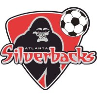 Atlanta Silverbacks Light Iron-on Stickers (Heat Transfers)