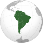 South America Iron Ons