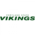 1999-Pres Portland State Vikings Wordmark Logo Light Iron-on Stickers (Heat Transfers)