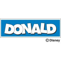 Donald Duck Light Iron On Stickers (Heat Transfers) version 4