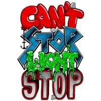 Cant Stop Wont Stop t shirt design