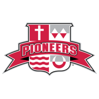 2004-Pres Sacred Heart Pioneers Secondary Logo Light Iron-on Stickers (Heat Transfers)