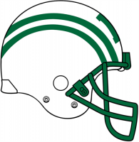 Dartmouth Big Green Pres Helmet Logo Light Iron-on Stickers (Heat Transfers)