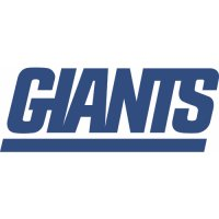 New York Giants Alternate Logo  Light Iron-on Stickers (Heat Transfers) version 2