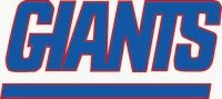 New York Giants Primary Logo  Light Iron-on Stickers (Heat Transfers)