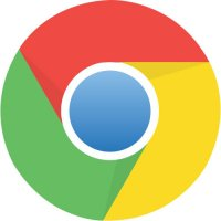 Google Chrome logo light t shirt iron on transfer