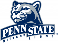 Penn State Nittany Lions 2001-2004 Primary Logo Light Iron-on Stickers (Heat Transfers)