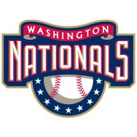 Washington Nationals Primary Logo  Light Iron-on Stickers (Heat Transfers)