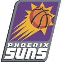 Phoenix Suns Primary Logo  Light Iron-on Stickers (Heat Transfers)