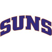 Phoenix Suns Script Logo  Light Iron-on Stickers (Heat Transfers) version 1
