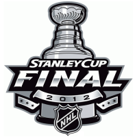 Devils-Kings 2012 Stanly Cup Final Primary Logo Light Iron-on Stickers (Heat Transfers) 2